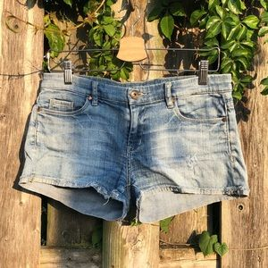 Blank NYC light denim shorts
